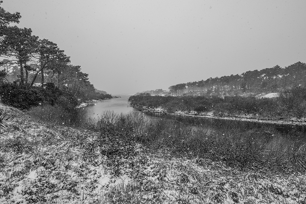 CONTIS - Du Contour, lit du Courant sous la neige
