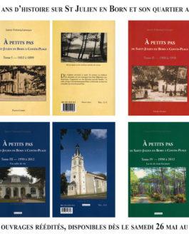 A PETITS PAS de Janette Duboscq-Lamarque, 200 ans d'histoire sur St Julien en Born et Contis