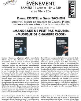 Dédicace Polars – Serge Tachon et Daniel Contel le samedi 11 août